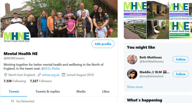 Follow us on Twitter @MHNEtweets